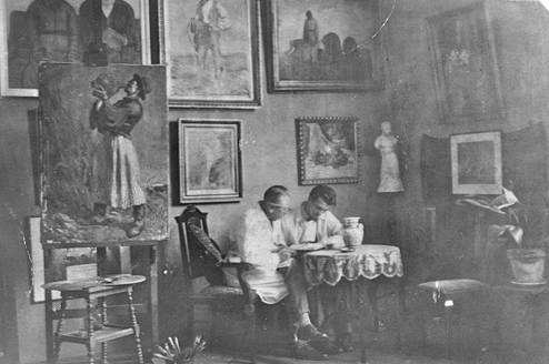 s csoka in his studio118